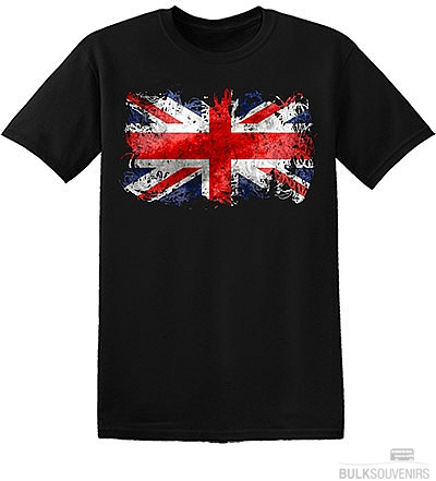 Childrens Abstract Union Jack T Shirt Size: 3 - 5 Years