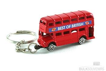 London Double Decker Bus Keyring