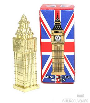 12x Miniature Big Ben Models Wholesale Souvenirs