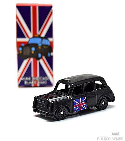 12x Metal London Taxi Models