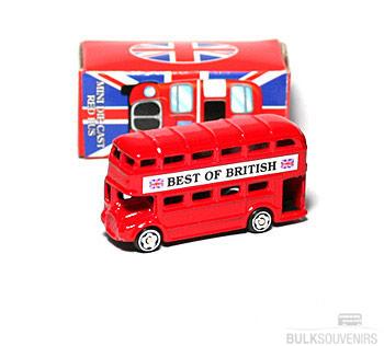 12x Miniature London Bus Models