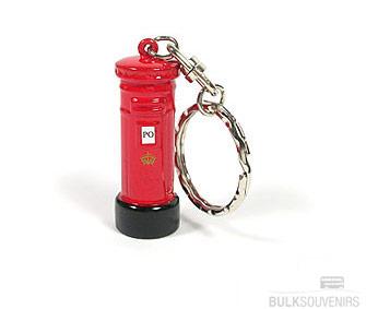 Red Post Box Keyring Wholesale Souvenirs