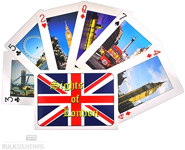 10x London Playing Cards